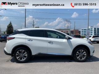 Used 2018 Nissan Murano AWD SL  - Sunroof -  Navigation for sale in Ottawa, ON