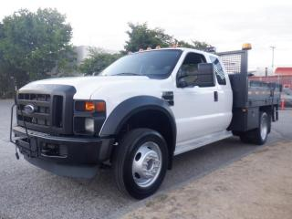 Used 2008 Ford F-450 SD Flat Deck 9 foot SuperCab 2WD Dually for sale in Burnaby, BC