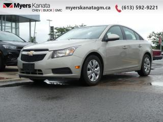 Used 2014 Chevrolet Cruze 1LT  - Bluetooth -  OnStar for sale in Kanata, ON