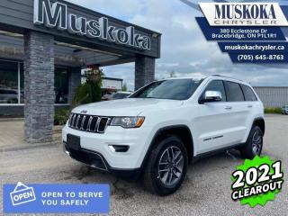 New 2021 Jeep Grand Cherokee Limited  - Leather Seats for sale in Bracebridge, ON