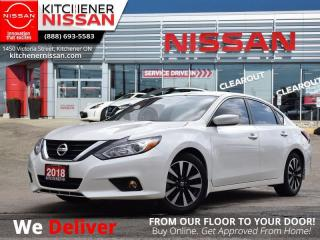 Used 2018 Nissan Altima SV   - VERY LOW KM   CLEAN CARFAX   BLUETOOTH for sale in Kitchener, ON