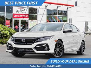 New 2021 Honda Civic Hatchback Sport for sale in Port Moody, BC