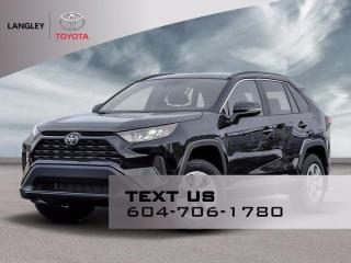 New 2021 Toyota RAV4 LE for sale in Langley, BC