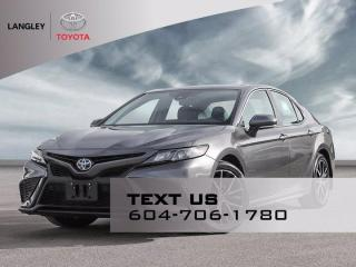 New 2021 Toyota Camry HYBRID SE for sale in Langley, BC
