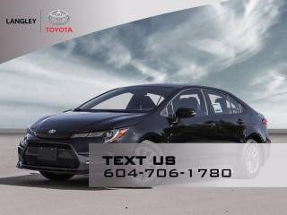 New 2021 Toyota Corolla SE for sale in Langley, BC