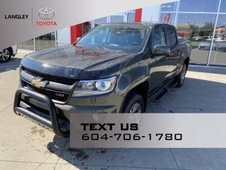 Used 2018 Chevrolet Colorado 4WD Z71 for sale in Langley, BC