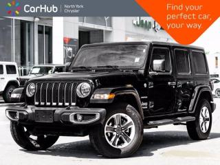 New 2021 Jeep Wrangler Unlimited Sahara|Cold Weather|Navi|Proximity Key for sale in Thornhill, ON