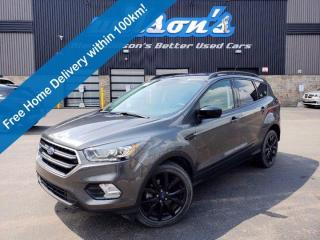 Used 2017 Ford Escape SE - Leather Trim, Navigation, Reverse Camera, Cruise Control, Alloys and More! for sale in Guelph, ON