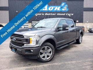 Used 2019 Ford F-150 XLT - Navigation, Reverse Camera, Heated Seats, Bluetooth, Remote Start, Alloys and Much More! for sale in Guelph, ON
