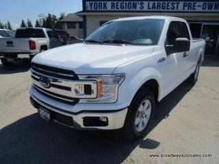 Used 2018 Ford F-150 LIKE NEW XLT-EDITION 6 PASSENGER 5.0L - V8.. TWO-WHEEL-DRIVE.. EXTENDED-CAB.. SHORTY.. PRO-TRAILER-ASSIST.. BACK-UP CAMERA.. BLUETOOTH SYSTEM.. for sale in Bradford, ON