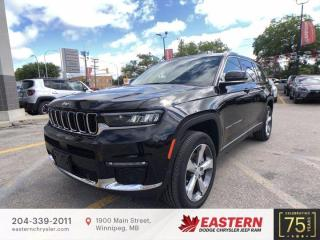 New 2021 Jeep Grand Cherokee L Limited | Panoramic Sunroof | 3rd Row Seats | for sale in Winnipeg, MB