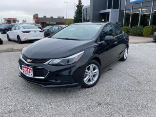 Used 2018 Chevrolet Cruze LT Manual for sale in Sarnia, ON