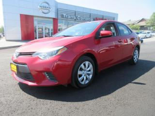 Used 2016 Toyota Corolla for sale in Peterborough, ON