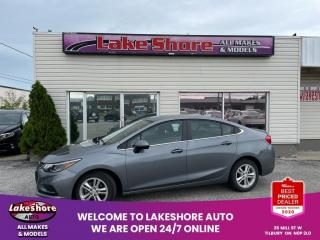 Used 2018 Chevrolet Cruze LT Auto LT HEATED SEATS for sale in Tilbury, ON