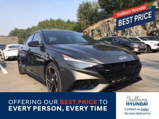New 2021 Hyundai Elantra N LINE for sale in Sudbury, ON