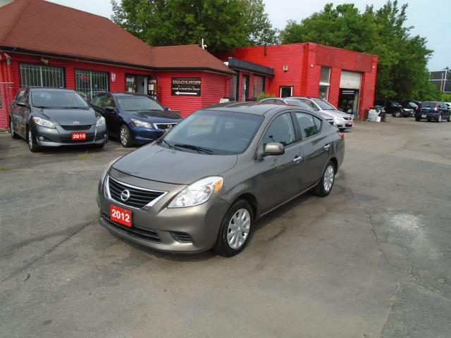 2012 Nissan Versa SV/ LOW KM / FUEL SAVER / ICE  COLD A/C / CLEAN /