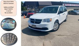 Used 2019 Dodge Grand Caravan Canada Value Package SAFETY CERTIFED B-TOOTH B-CAM for sale in Oakville, ON