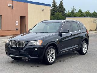Used 2014 BMW X3 xDrive28i NAVIGATION/CAMERA/PANO ROOF for sale in North York, ON