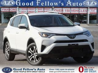 Used 2017 Toyota RAV4 LE MODEL, BACKUP CAMERA, VOICE COMMAN/RECOGNITION for sale in Toronto, ON