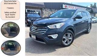 Used 2015 Hyundai Santa Fe 7 Seaters 3.3L Auto XL B-TOOTH SAFETY NO ACCIDE for sale in Oakville, ON