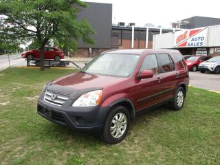 Used 2005 Honda CR-V EX ~ AWD ~ LOW KM ~ SAFETY INCLUDED for sale in Toronto, ON