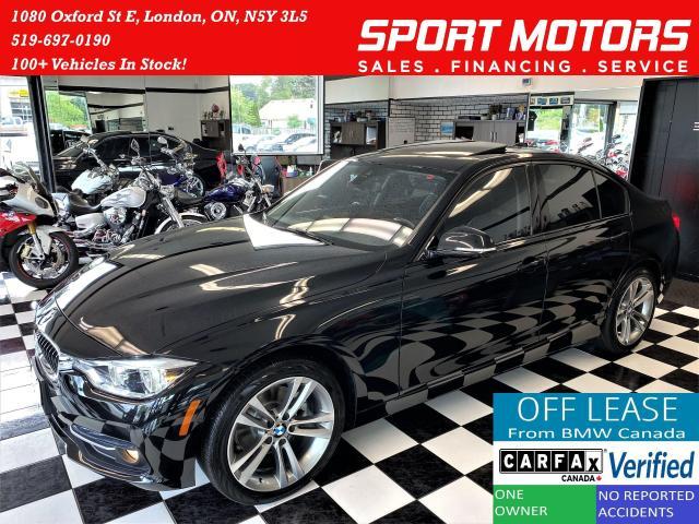 2017 BMW 3 Series 320i xDrive+GPS+BSM+360 Camera+PDC+CLEAN CARFAX