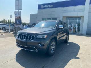 Used 2016 Jeep Grand Cherokee LTD LEATHER/PANOROOF/POWERTAILGATE/HEATEDSTEERING for sale in Edmonton, AB