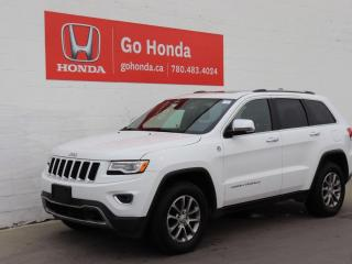 Used 2016 Jeep Grand Cherokee LIMITED, LEATHER, SUNROOF, ADAPTIVE CRUISE, BLIND for sale in Edmonton, AB