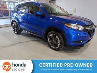 Used 2018 Honda HR-V EX-L NAVI for sale in Red Deer, AB