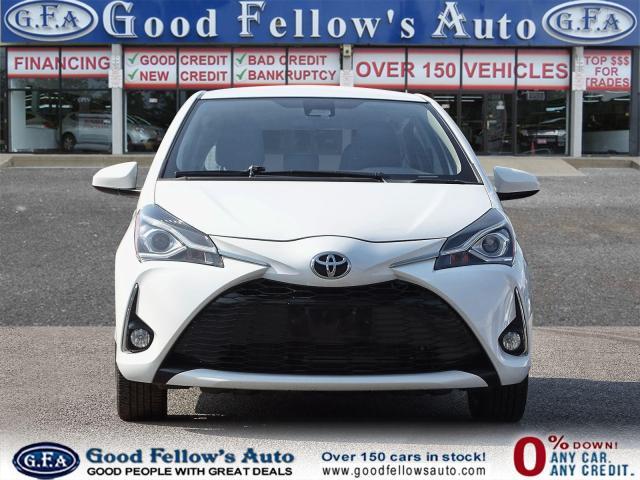 2018 Toyota Yaris SE MODEL, REARVIEW CAMERA, HEATED SEATS, BLUETOOTH Photo2