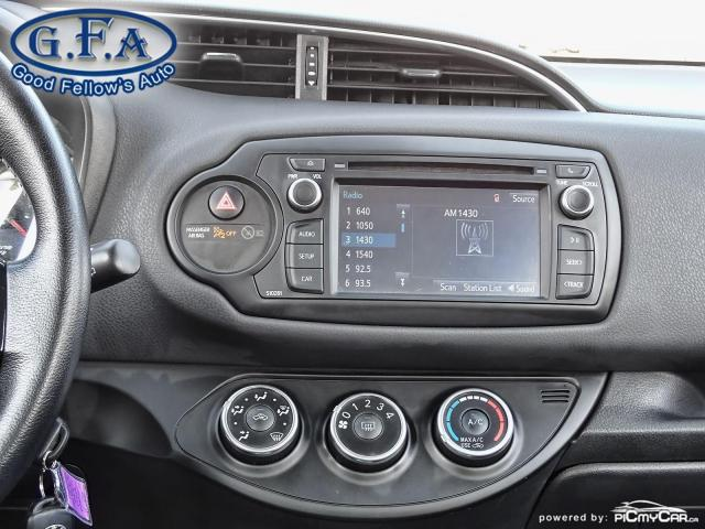 2018 Toyota Yaris SE MODEL, REARVIEW CAMERA, HEATED SEATS, BLUETOOTH Photo12