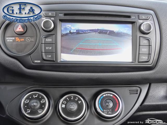 2018 Toyota Yaris SE MODEL, REARVIEW CAMERA, HEATED SEATS, BLUETOOTH Photo17