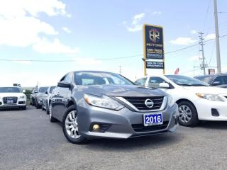 Used 2016 Nissan Altima Altima    CVT 2.5   R cam   Certified for sale in Brampton, ON