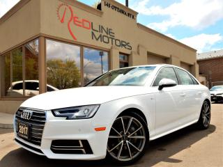 Used 2017 Audi A4 AWD S-Line Premium Plus Navigation.Cam.ParkAssist for sale in Kitchener, ON