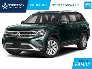 New 2021 Volkswagen Atlas 3.6 FSI Execline for sale in Surrey, BC