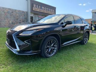Used 2019 Lexus RX 350 F-SPORT 3 NAVI PANO ROOF HUD 360 CAM for sale in North York, ON