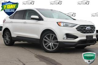 Used 2019 Ford Edge Titanium ONE OWNER NO ACCIDENTS CERTIFIED for sale in Hamilton, ON