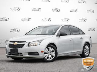 Used 2013 Chevrolet Cruze LS Stick Shift Great on Gas | You Safety You Save!! for sale in Oakville, ON
