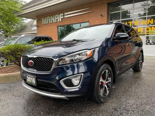 Used 2016 Kia Sorento AWD 7-Seater Panoramic Roof R.Starter R.cam Certi* for sale in Concord, ON