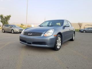 Used 2006 Infiniti G35 Luxury I $0 DOWN - EVERYONE APPROVED ! for sale in Calgary, AB