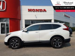 Used 2018 Honda CR-V Touring Leather - Navi - Apple CarPlay - Android Auto for sale in Winnipeg, MB