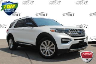 Used 2020 Ford Explorer Limited 7 passenger leather pano roof navi awd for sale in Hamilton, ON