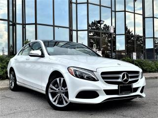 Used 2018 Mercedes-Benz C-Class C300 4MATIC |AMG PKG|PANORAMIC|HEATED SEATS|LEATHER|ALLOYS| for sale in Brampton, ON