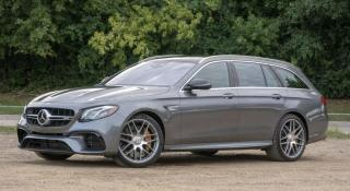 Used 2018 Mercedes-Benz E-Class AMG E 63 Wagon, Drive Assist, HUD, Carbon Fiber for sale in Concord, ON
