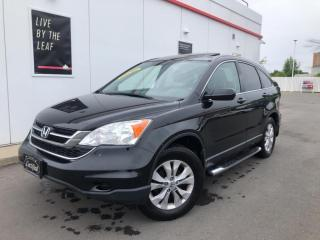 Used 2011 Honda CR-V 4WD EX-SUNROOF-NAVIGATION-ONLY 104KMS-CERTIFIED for sale in Toronto, ON