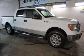 Used 2009 Ford F-150 5.4L XLT PREMUIM 4X4 SUPER CREW CAMERA CERTIFIED 2YR WARRANTY *FREE ACCIDENT* BLUETOOTH CHROME BED COVER for sale in Milton, ON