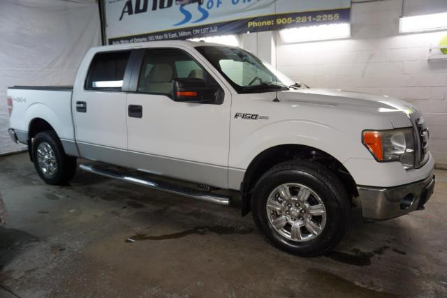 2009 Ford F-150 5.4L XLT PREMUIM 4X4 SUPER CREW CAMERA CERTIFIED 2YR WARRANTY *FREE ACCIDENT* BLUETOOTH CHROME BED COVER