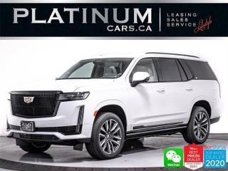Used 2021 Cadillac Escalade Sport Platinum,V8,7 PASSENGER, DRIVER AST, AR NAV for sale in Toronto, ON