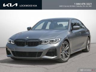 Used 2020 BMW 3 Series M340i xDrive Sedan - MANUFAKTUR EDITION for sale in Oakville, ON