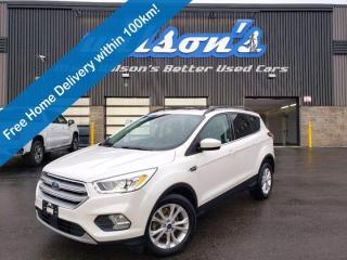Used 2018 Ford Escape SEL, Leather, Navigation, Panoramic Sunroof, Reverse Camera, Heated Seats, Alloys and More! for sale in Guelph, ON